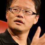 Jerry Yang and Sue Decker