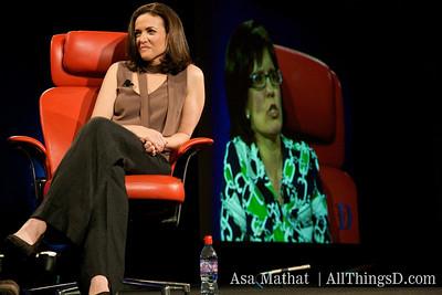 Sheryl Sandberg at D6
