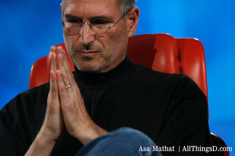 Steve Jobs Praying - All Rights to All Things D
