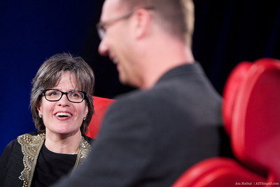 Kara Swisher during Andy Rubin Interview at Dive Into Mobile