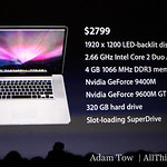 "A list of the key features in the new 17"" MacBook Pro."