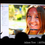 Phil talks about the face detection and face tagging in iPhoto 09.