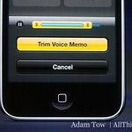 A detail of Voice Memo functionality.