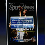Offering SportsNews via subscription.