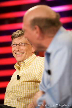 Bill Gates at D6