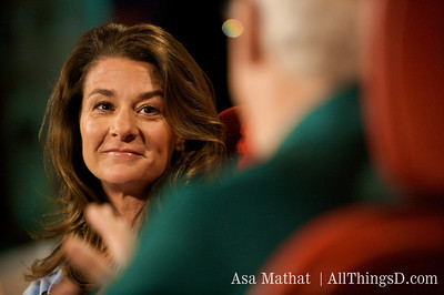 Melinda Gates at D6