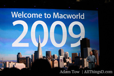 Phil Schiller at MacWorld 2009