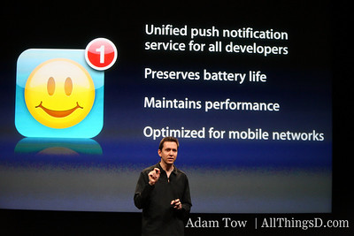 Push notification coming to iPhone 3.0