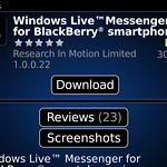 Windows Live Messenger for BlackBerry.