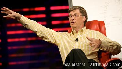 Bill Gates at D6