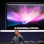 "Phil Schiller announcing the new 17"" MacBook Pro."