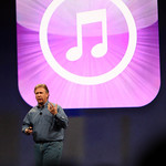 Phil Schiller, VP of Worldwide Marketing for Apple, gives the final Apple keynote at MacWorld.