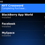 Blackberry App World.